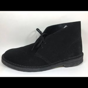 Clarks Chukka Charles F Stead Leather Boots 10M
